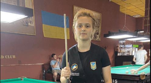 15-річна франківка стала чемпіонкою України зі спортивного більярду (ФОТО, ВІДЕО)