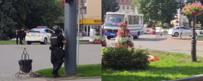 У Луцьку терорист захопив автобус із 20 заручниками, їх звільнили через 12 годин полону (ФОТО, ВІДЕО)