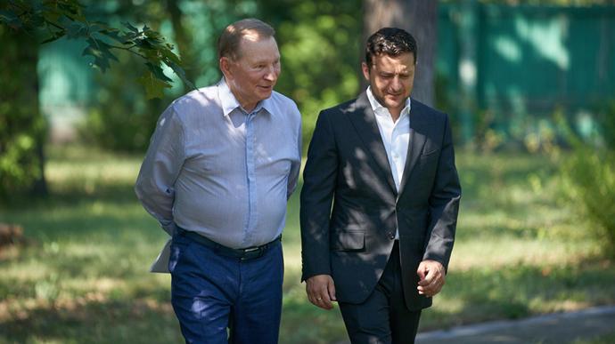 Кучма покинув тристоронню контактну групу щодо Донбасу