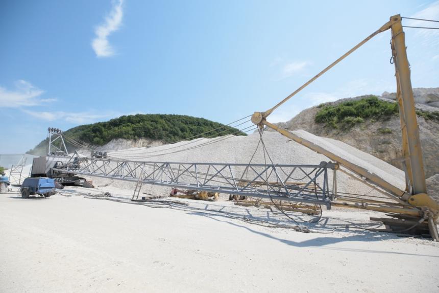 На Тисмениччині будують виробничий комплекс із видобутку та переробки вапна (ФОТО)