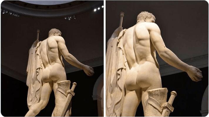 У кого найкраща дупа? Музеї влаштували батл експонатів (ФОТО)