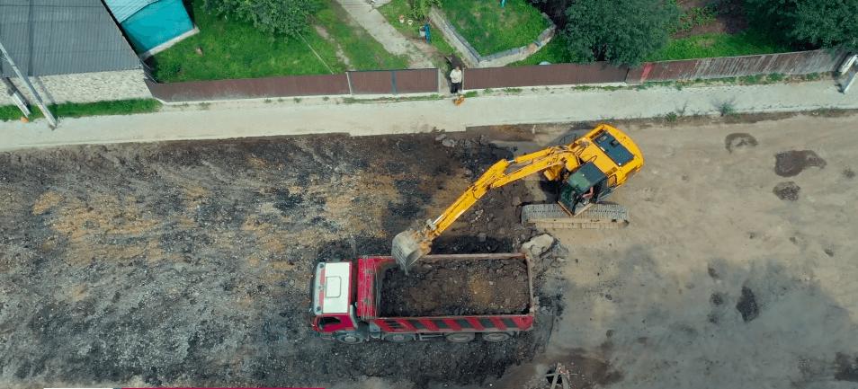 Дорожники показали, як проходить капітальний ремонт Автоливмашівської (ВІДЕО)