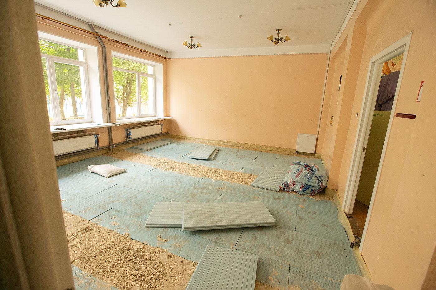 Нова їдальня, вікна, система опалення: у ліцей №21 і двох дитсадках тривають ремонти (ФОТО)