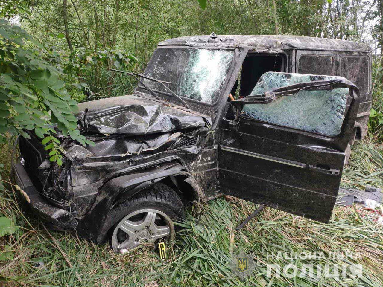 Халаменда потрапив у ДТП на Рівненщині, його госпіталізували (ФОТО)