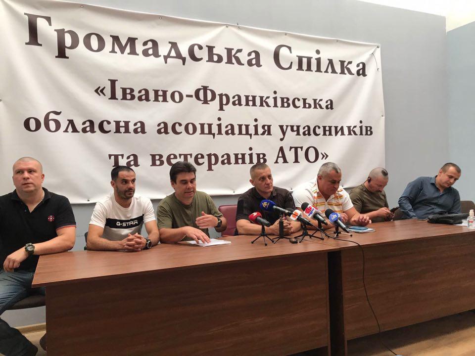 Єднання народу: учасників АТО з Прикарпаття кличуть на Марш ветеранів у Києві
