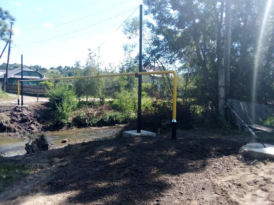 На Долинщині повністю відновлено газопостачання після червневої повені