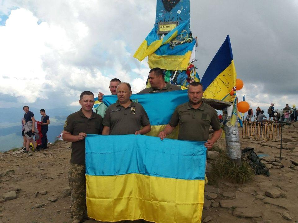 Українські військові підкорили Говерлу до Дня Незалежності (ФОТО)