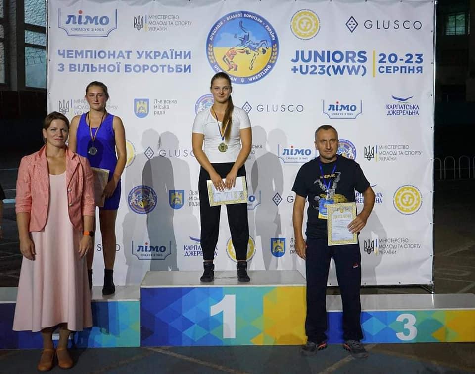 Калуська борчиня стала чемпіонкою України серед юніорок (ФОТО)