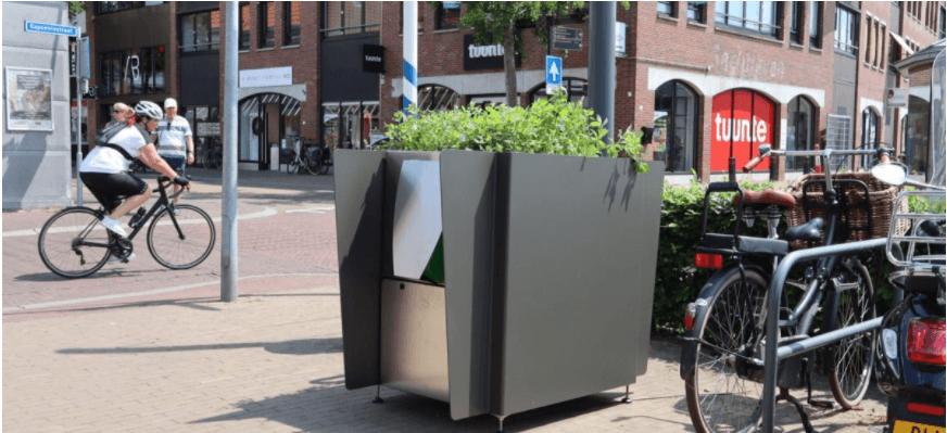 В Амстердамі встановили громадські пісуари з клумбами коноплі (ФОТО)