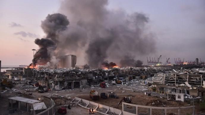 Уряд Лівану йде у відставку після акцій протесту через масштабний вибух