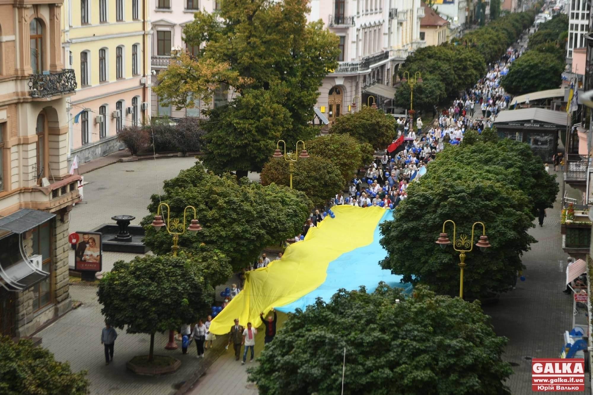 Масштабний пробіг у вишиванках влаштують в Івано-Франківську (МАРШРУТ)