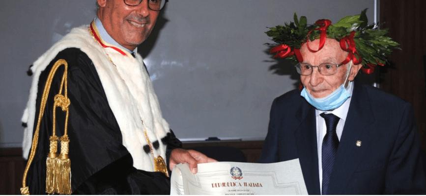 96-річний італієць здійснив мрію та отримав ступінь бакалавра