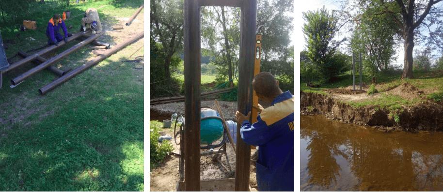 У восьми районах продовжують відновлювати газопостачання після червневої повені (ФОТО)