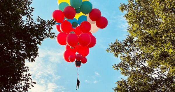 Відомий американський ілюзіоніст збирається пролетить над штатом на повітряних кульках (ВІДЕО)