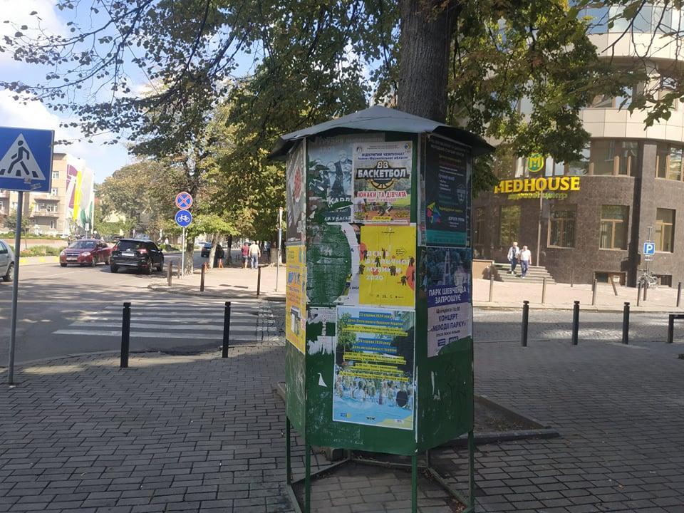 У Франківську – майже сто місць для розміщення агітації, у Снятині їх немає взагалі – ОПОРА