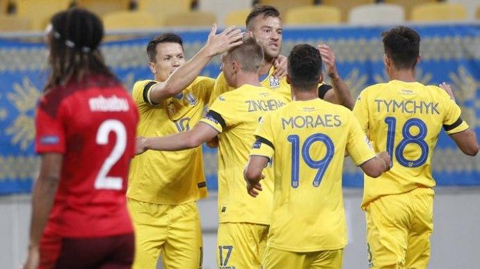 Збірна України розпочала Лігу Націй з перемоги над Швейцарією (ВІДЕО)