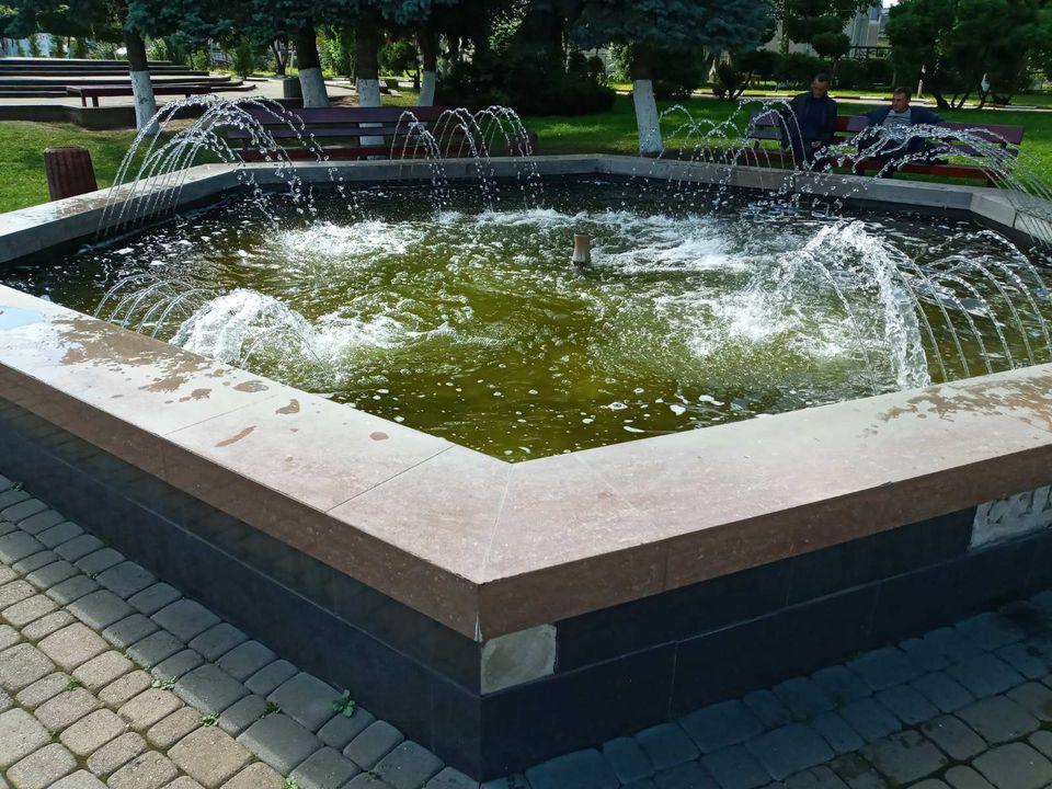 У Снятині невідомі пошкодили міський фонтан (ФОТО)