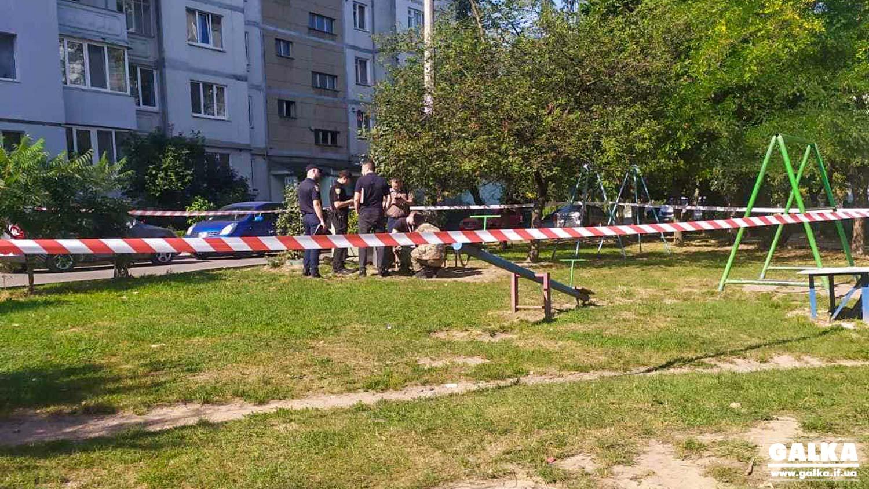 У дворі на Каскаді знайшли гранатомет (ФОТО)