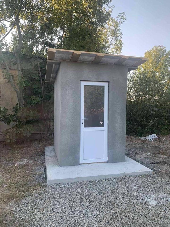 В Угринові будують туалет за 50 тисяч гривень. Голова пояснив, що це не кінцева ціна (ФОТО)