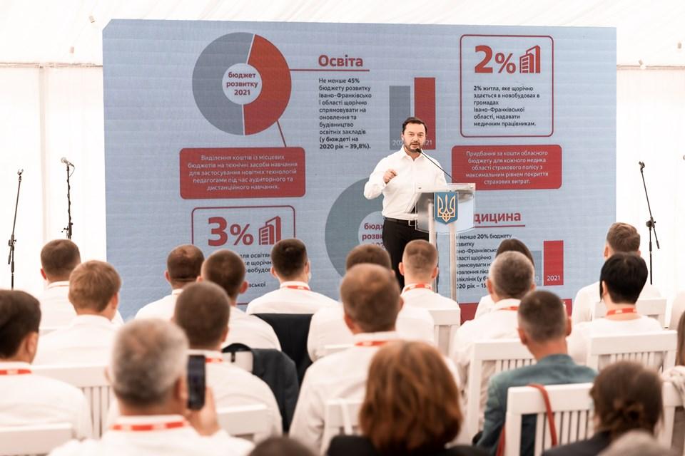Юрій Соловей очолить обласний список партії УДАР на місцевих виборах (ФОТО)