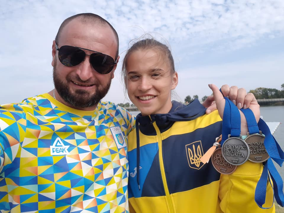 Прикарпатська веслувальниця привезла комплект нагород з міжнародного турніру (ФОТО)