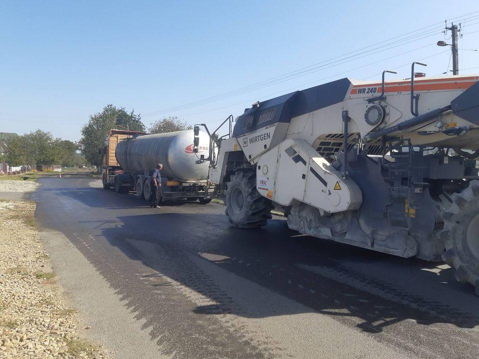 У Калуському районі розпочали ремонт дороги Залуква – Бондарів (ФОТО)