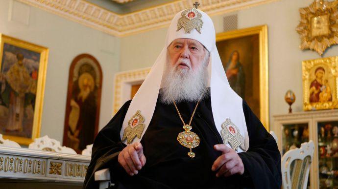 Патріарх Філарет заразився COVID-19