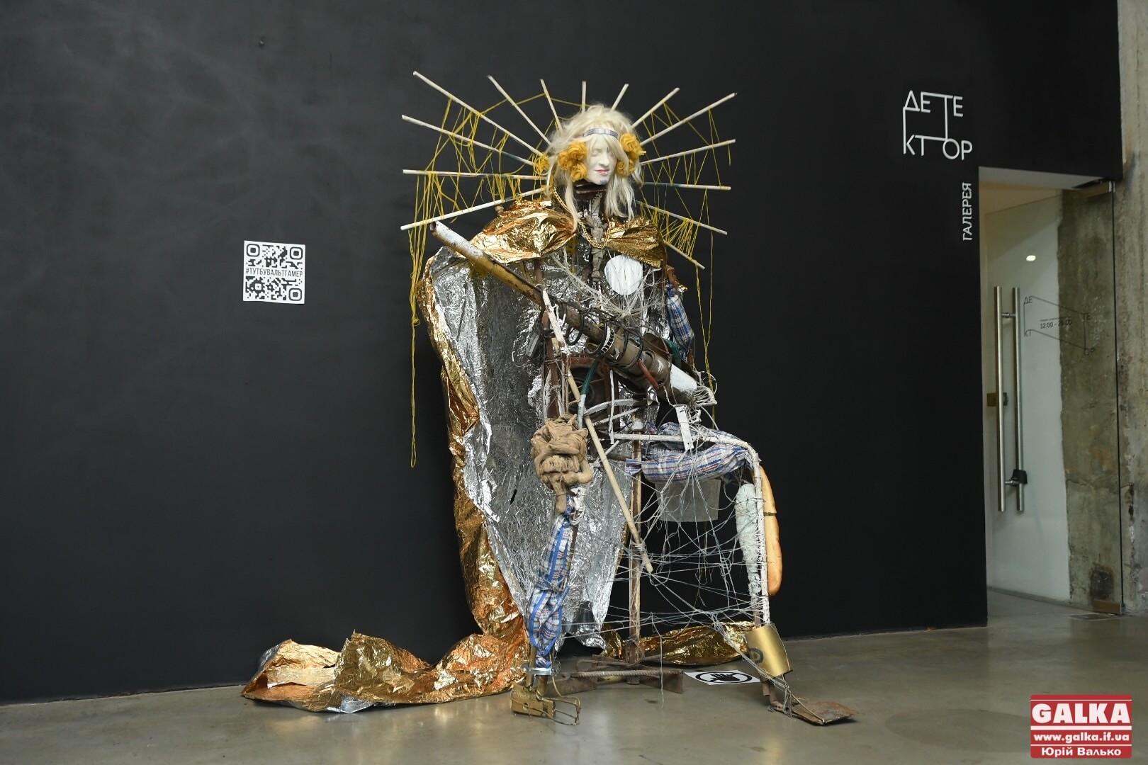 """""""Це не про красу, а про глибокий сенс"""": у Франківську показали відновлені скульптури з """"Конгресу рисувальників"""" (ФОТО)"""