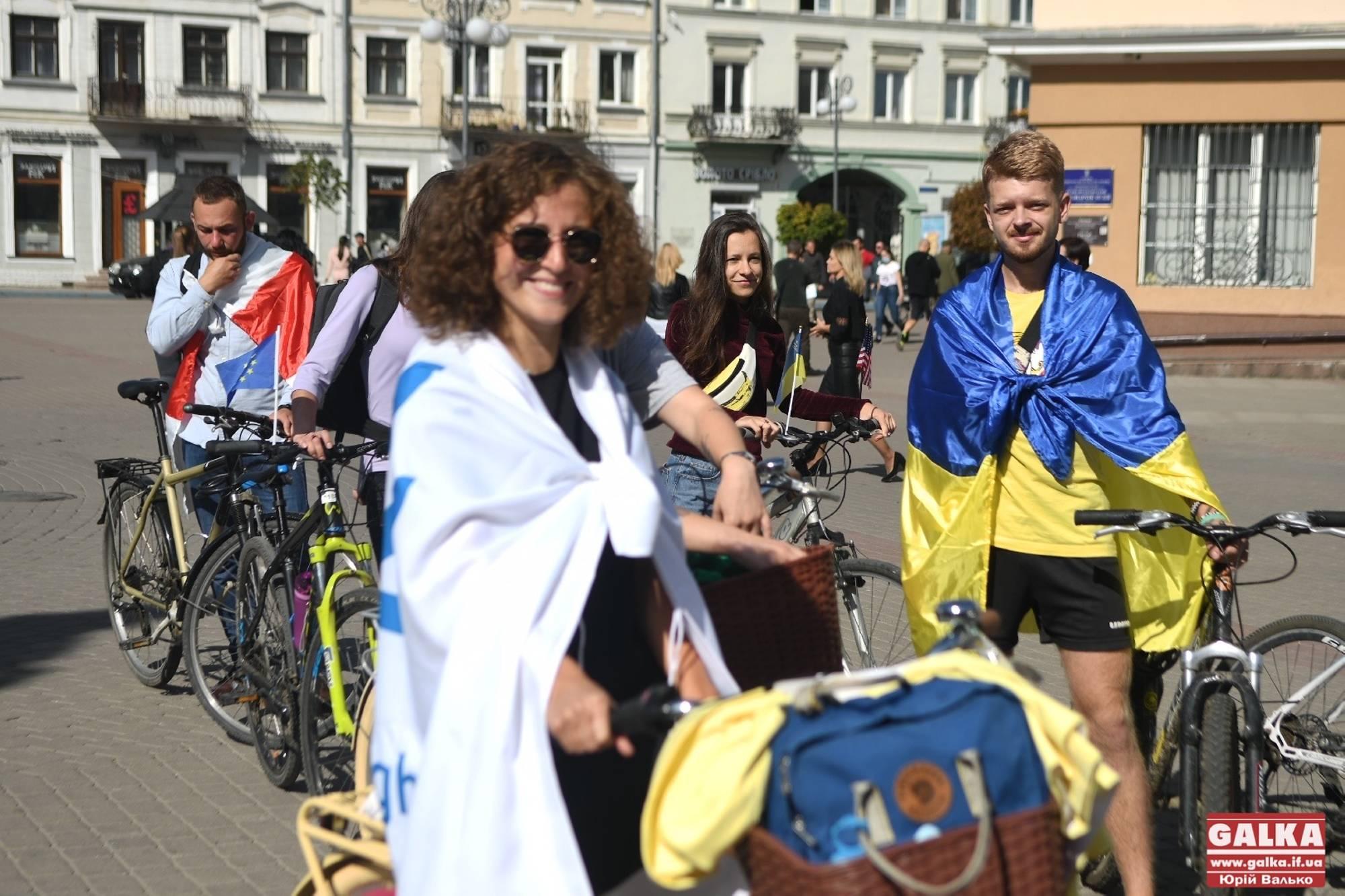 В Івано-Франківську активісти на велосипедах пропагуватимуть мир і толерантність (ФОТО)