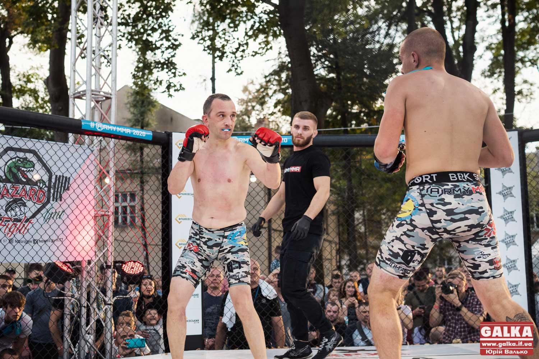 ARMY MMA: У Франківську ветерани АТО\ООС змагалися у змішаному єдиноборстві (ФОТО)