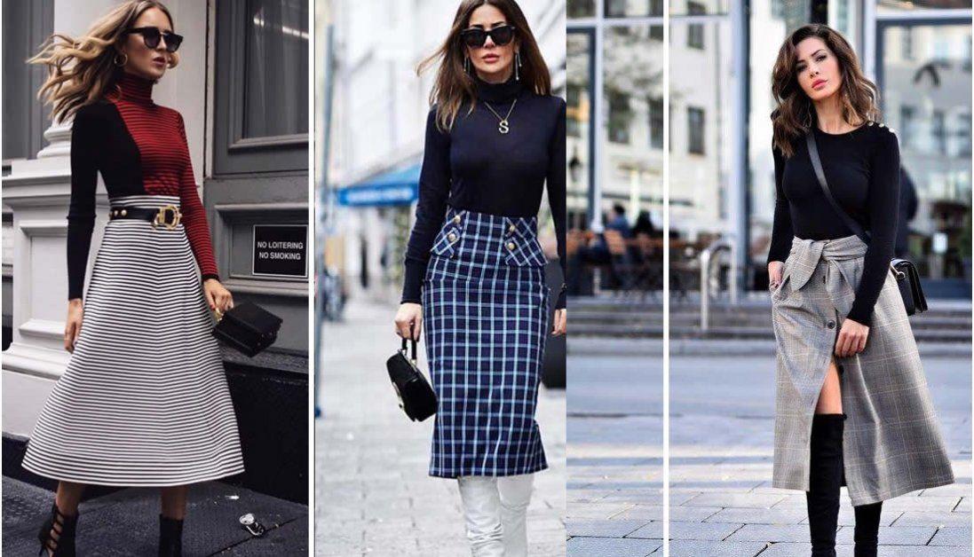 Кольорові спідниці: як вибрати і з чим носити