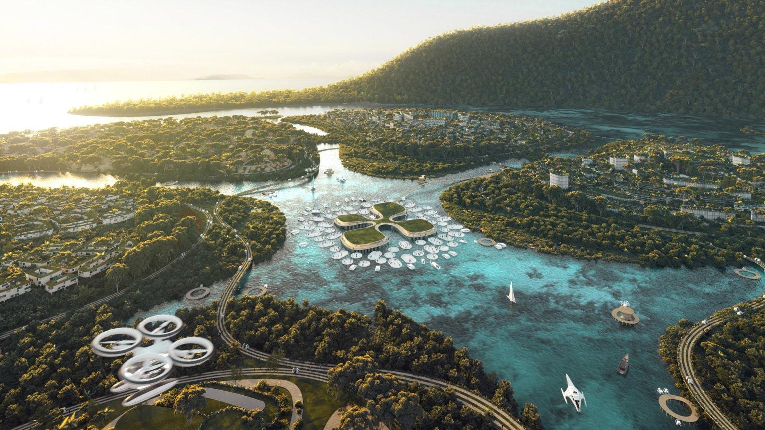 У Малайзії побудують екологічне місто майбутнього на трьох штучних островах (ФОТО, ВІДЕО)