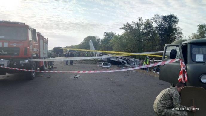 Зеленський оголосив день жалоби через авіакатастрофу під Харковом: 26 загиблих, один постраждалий