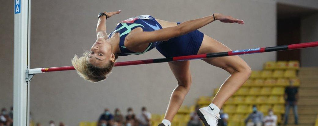 """Прикарпатка здобула """"золото"""" на міжнародних змаганнях зі стрибків у висоту"""