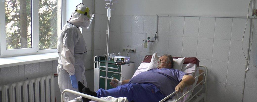 Франківські журналісти показали реанімацію з хворими на COVID-19 зсередини (ВІДЕО)
