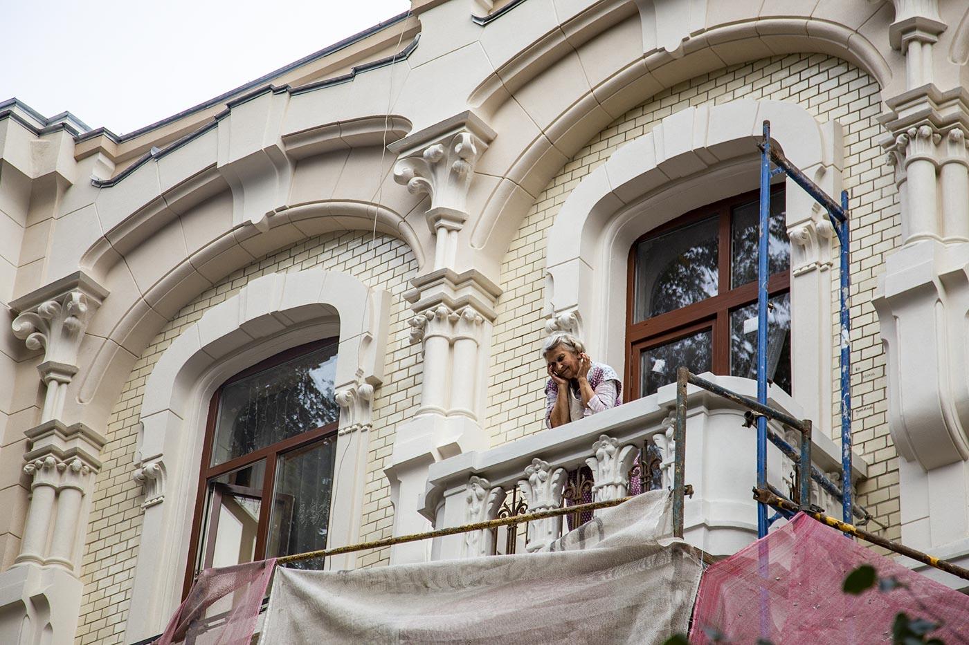 """Реставрація """"будинку з химерами"""" – на завершальному етапі (ФОТО)"""