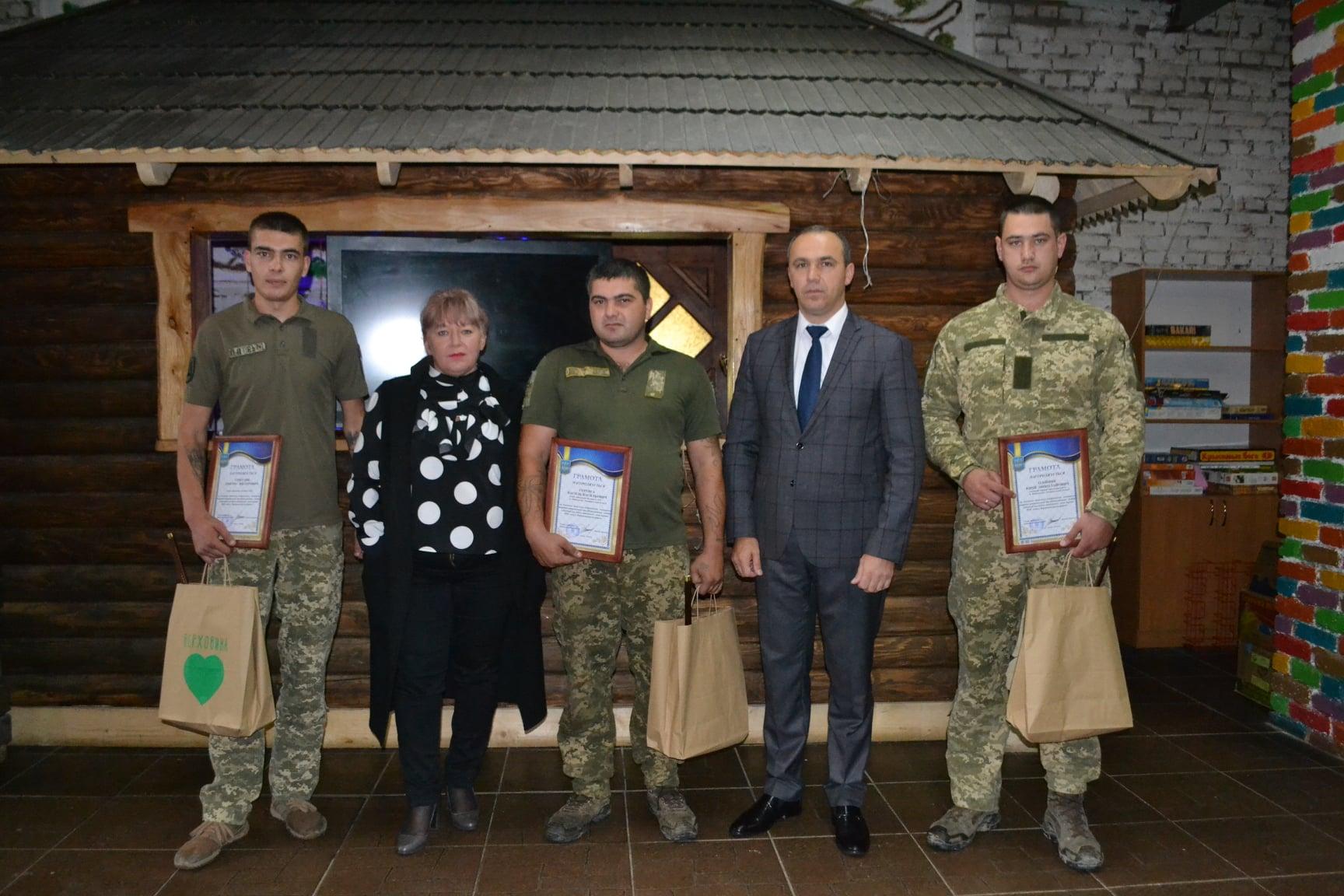 Нагородили військових, які допомагали ліквідовувати наслідки червневої повені на Верховинщині (ФОТО)
