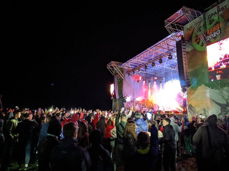 Перший великий після карантину: у Коломиї відгримів фестиваль Drive for life fest (ФОТО, ВІДЕО)
