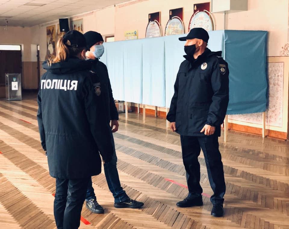 Поліція: на Івано-Франківщині одна виборча дільниця не відкрилася вчасно