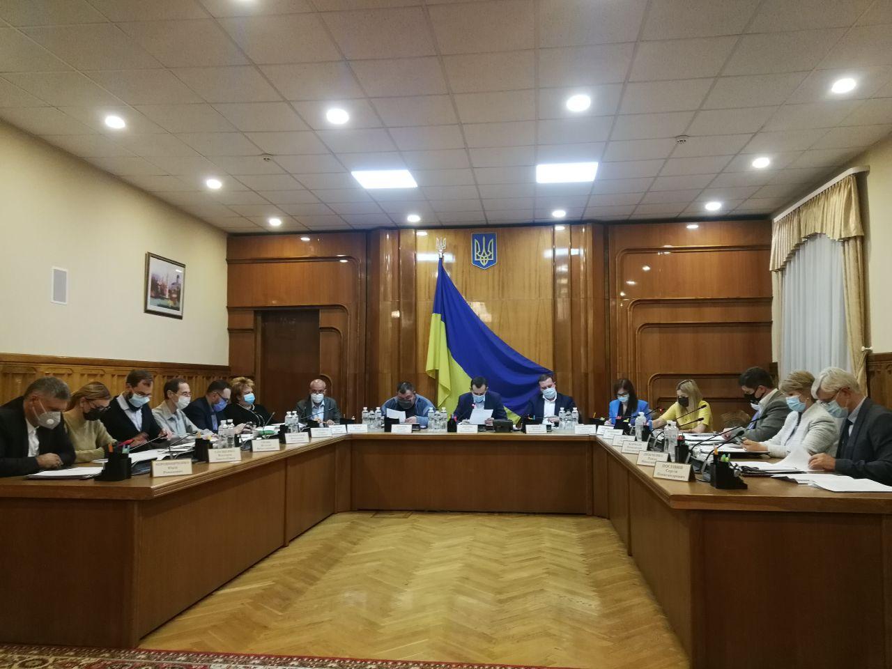 ЦВК достроково припинила повноваження всього складу Івано-Франківської обласної ТВК