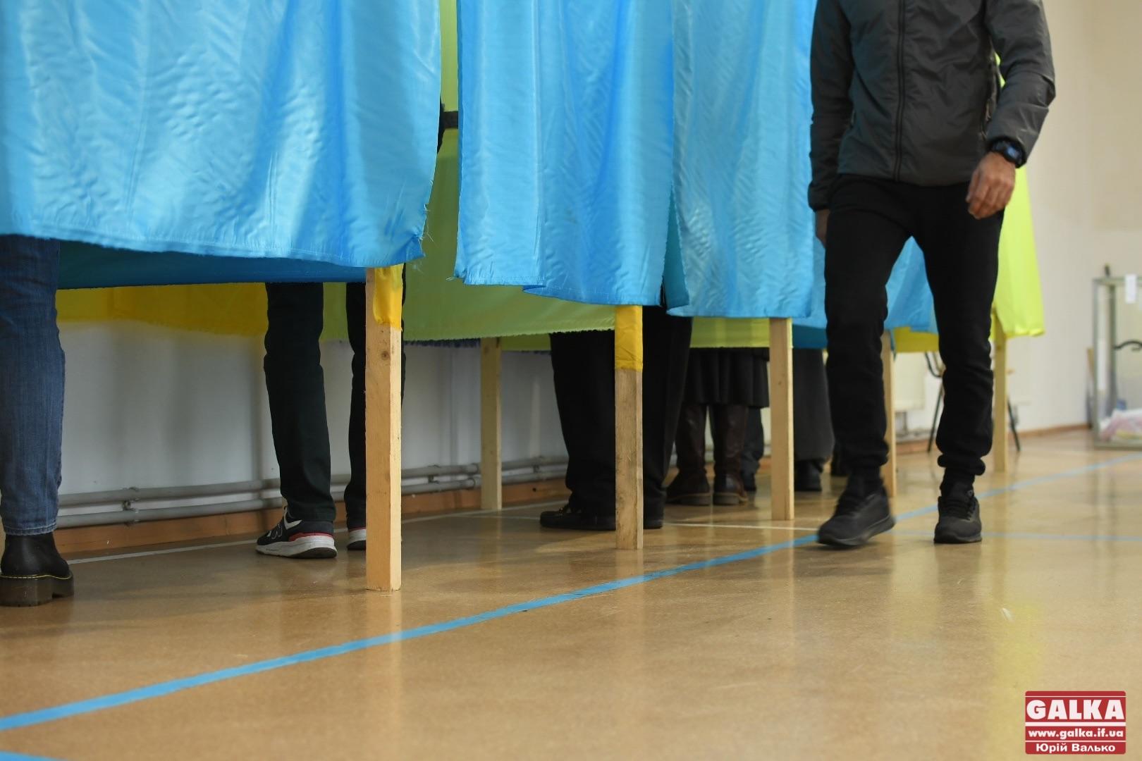 На Прикарпатті спостерігач на виборах заповнював чужі бюлетені – поліція