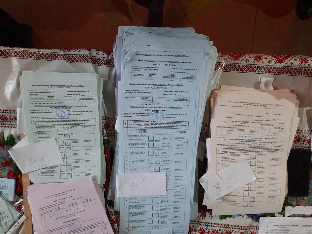 Бюлетені без номеру дільниці та голосування без паспортів, – ОПОРА фіксує порушення на Верховинщині (ФОТО)
