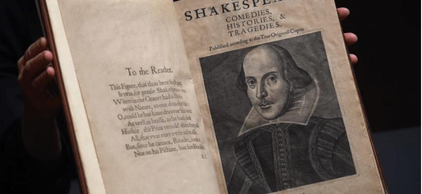 Першу збірку п'єс Шекспіра продали за майже 10 мільйонів доларів