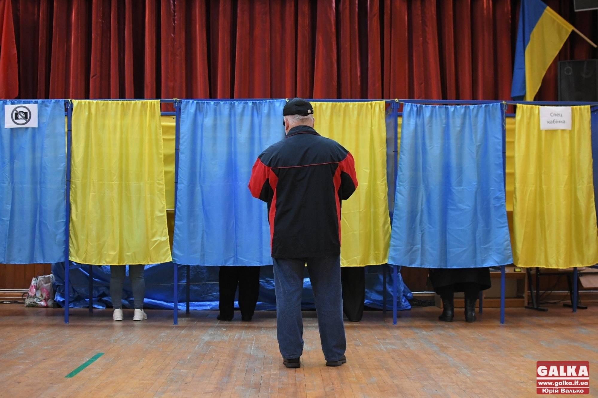 День голосування на Франківщині: одна дільниця відкрилась з затримкою