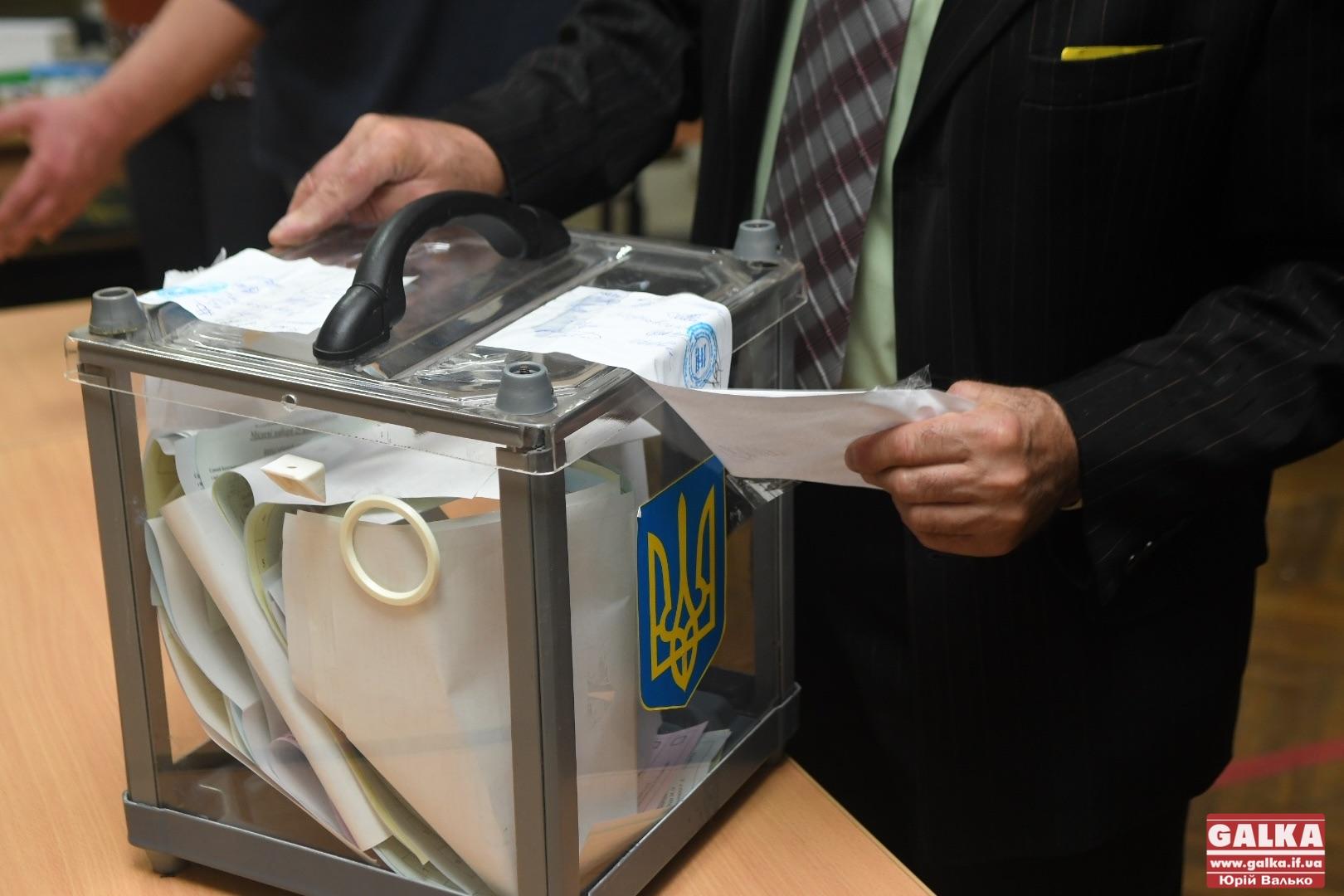 На Франківщині виборчі комісії склали протоколи «з майбутнього» (ФОТО)
