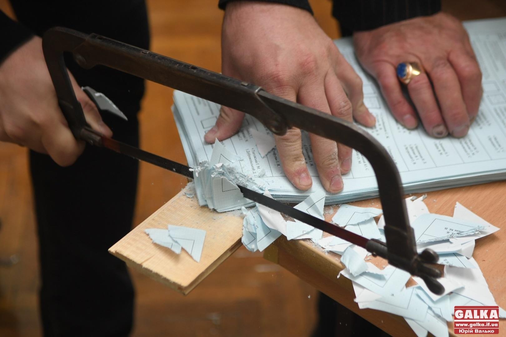 У Франківську завершилися місцеві вибори. Що відбувається за зачиненими дверима дільниці (ФОТОРЕПОРТАЖ)
