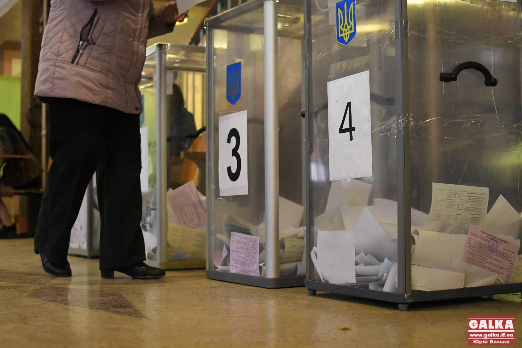 Явка виборців на Прикарпатті – 7,7%. Поліція отримала сім повідомлень про порушення