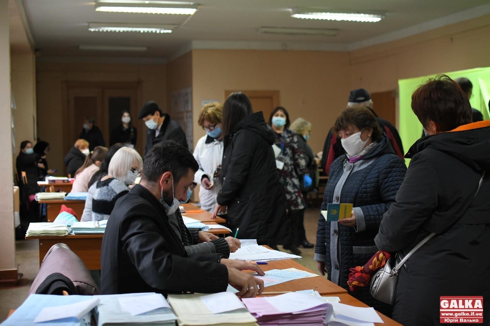 Явка виборців у Франківську станом на 17 годину – 30%