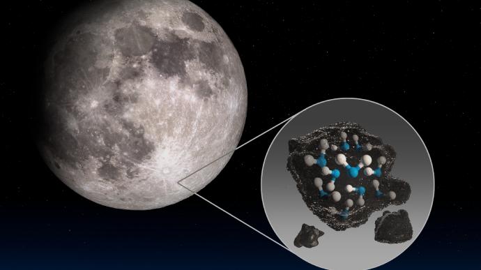 NASA виявило воду на сонячній стороні Місяця (ВІДЕО)
