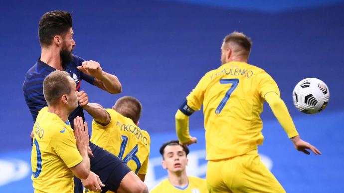 Збірна України у матчі з чемпіонами світу пропустила сім м`ячів (ВІДЕО)